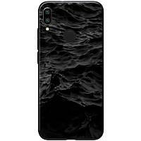 Чехол на Xiaomi Redmi 7 / Ксиоми Редми 7 море / черный