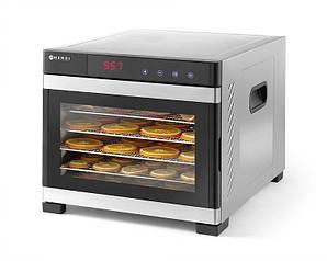 Сушилка для сухофруктов для пищевых продуктов  6 полок, 34x45x31 см. цифровая панель управления Prof