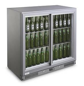 Барный холодильник 208 л. с раздвижной дверью CANDOR Barmatic