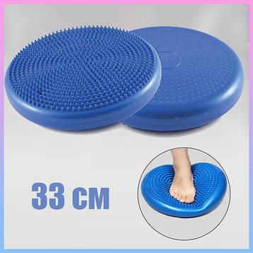 Подушка балансировочная, массажная подушка. Балансировочный диск для сидения