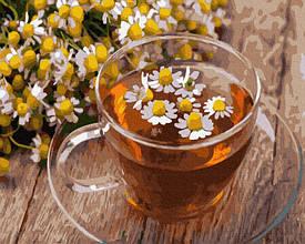 Картина по номерам Ромашковый чай