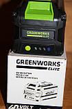 Аккумуляторная батарея Greenworks Elite 40V 3AH Smart Lithium-Ion c USB, фото 3