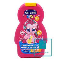 Детский шампунь и пена On Line Lemonade 250 мл