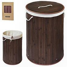 Корзина для белья складной Бамбуковый (35 * 60см) R29379