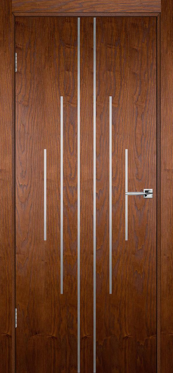 Межкомнатная дверь Флэш 11 светлый орех распродажа