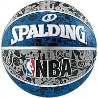 Баскетбольный мяч Spalding Graffiti Blue