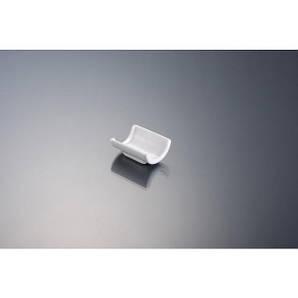 Подставка под палочки для суши 6 см. фарфоровая, белая