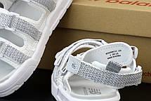 Сандали летние, женские  босоножки NB белые (top replic), фото 3