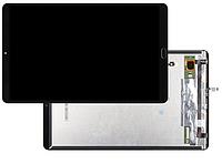 Дисплей Xiaomi Mi Pad 4 Plus со сканером отпечатка с сенсором чёрный оригинал