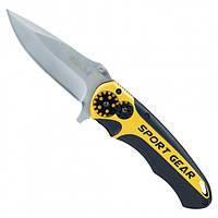 Нож  раскладной 115 мм (рукоятка алюминиевый сплав)