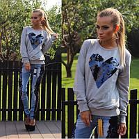 Женские джинсы с гипюровыми вставками.Размер 26 27 28 29. VO10670