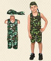 Комплект для мальчика камуфляж кулир