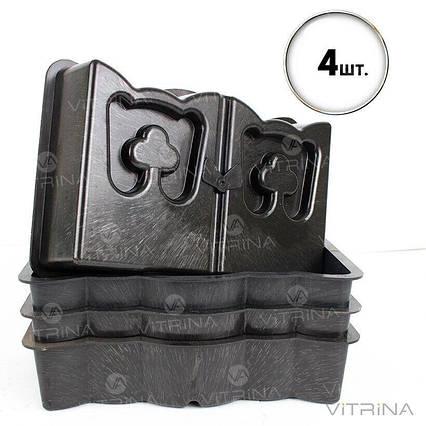 Форма для бордюра, бордюрный камень 30х19х7см, Украина - Акция! 4 шт., фото 2