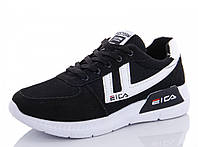 Кроссовки женские черные демисезонные EICA (1173083712) 41 р. 25 см
