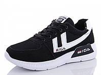 Кроссовки женские черные демисезонные EICA (1173083712) 40 р. 24,5 см