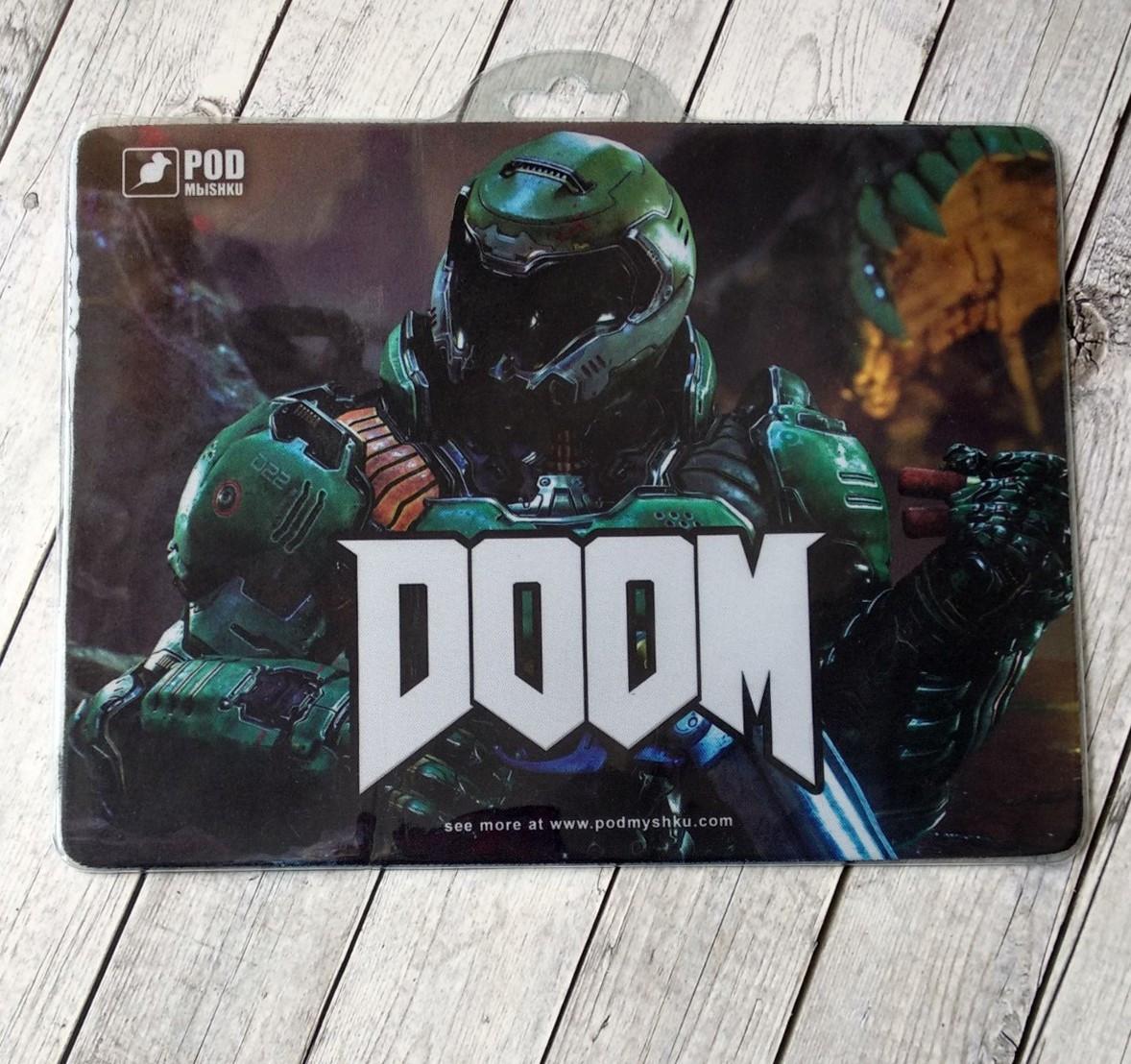 Коврик для мыши Podmyshku Doom для игровой мыши, ткань, размер S  - купить со скидкой