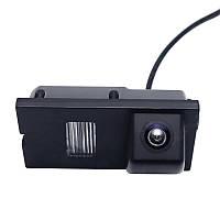 Штатная камера заднего вида Lesko 1281 для Land Rover Freelander 2, Discovery 3, 4, Range Rover (4373-12819)