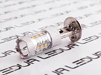 Світлодіодні авто лампи 12V H1-Gree 80w білий