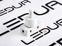 Кнопка біла для лампи PBS-18