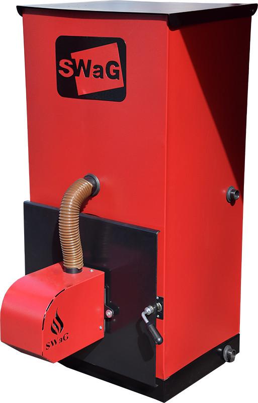 Пеллетный котел с автоподачей SWaG-pellets 15 кВт