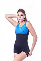Женский цельный купальник W016B1D4 S Shepa od00039525 Черно-синий