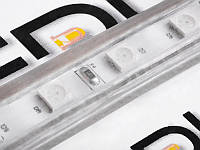Світлодіодна стрічка 5050-60led-10mm-220V, IP68 RGB