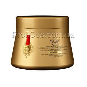 Купить Питательная маска для плотных волос на основе масел L'Oreal Professionnel Mythic Oil Rich Oil Masque, 200 мл