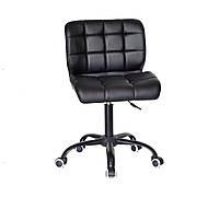 Кресло офисное Onder Mebli Soho BK-Office ЭкоКожа Черный