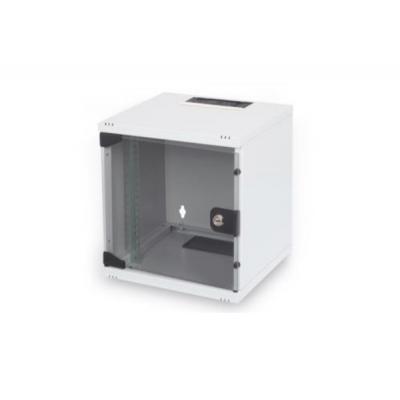 """Шкаф настенный DIGITUS 6U 10"""" 312x300, glass door, 30kg max, grey (DN-10-05U-1)"""