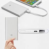 Павербанк Супер тонкий Power Bank Xiaomi Mi Slim 12000 mAh (серый)