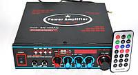 Усилитель мощности звука AMP AV 308 | компактный усилитель звука | усилитель мощности