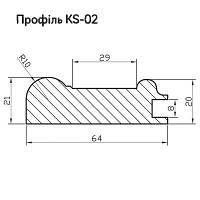 Профиль МДФ AGT KS02