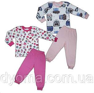 Дитяча трикотажна піжама (інтерлок), фото 2