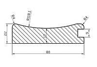 Профиль МДФ AGT PR 204