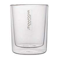 Стакан для кофе с двойными стенками Showroom SR80002K2 - 300 мл, хрусталь
