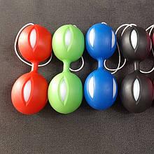 Вагинальные шарики со смещенным центром тяжести красный