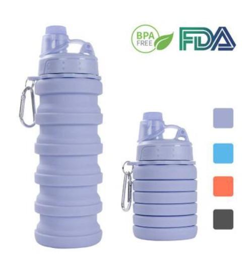 Складная бутылка спортивная массажер ленточный на платформе