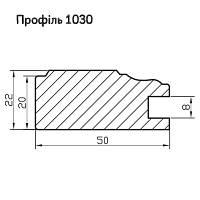 Профиль МДФ AGT 1031, фото 1
