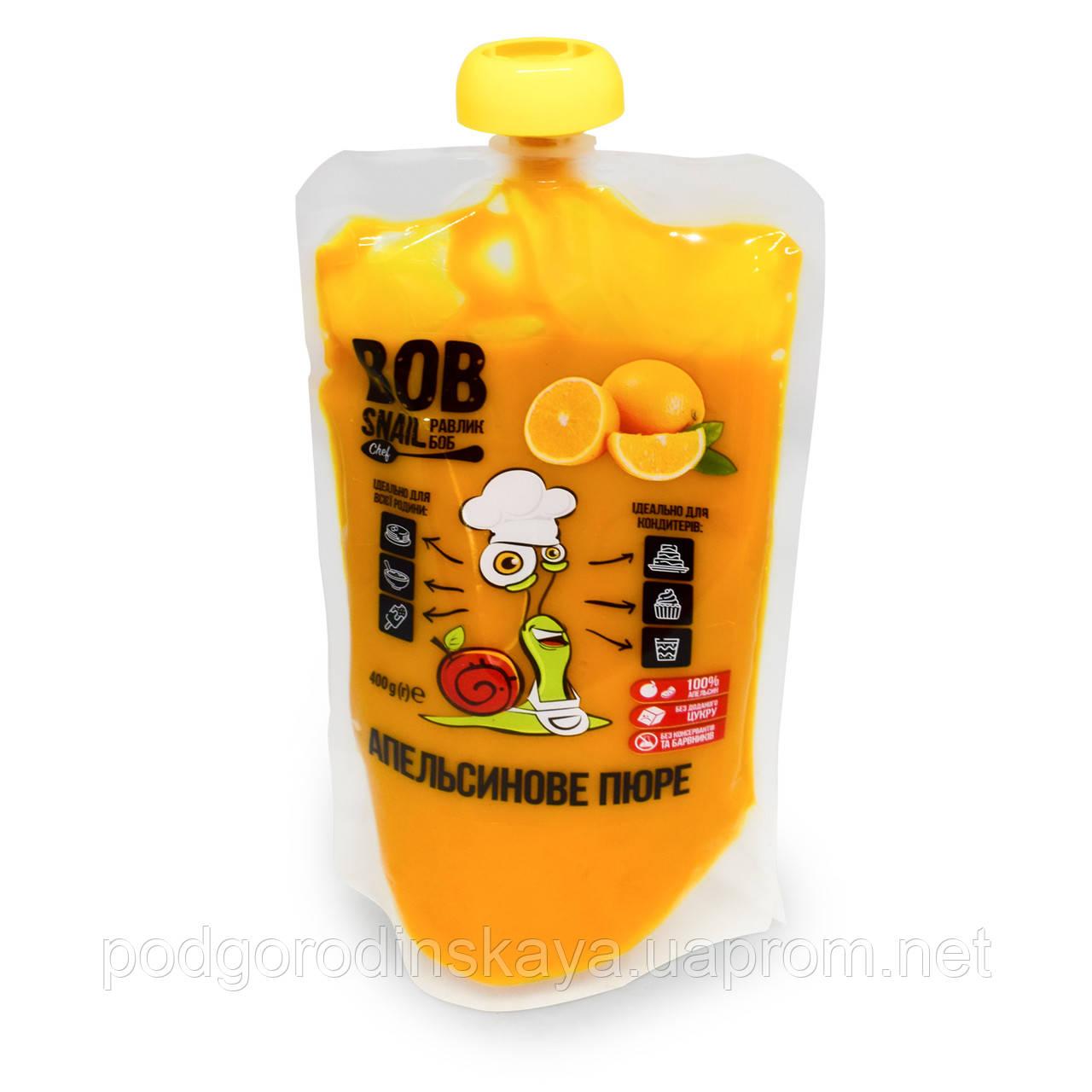 Апельсинове пюре без цукру Snail Bob, 400г