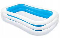 "Надувной бассейн ""Ванна"" 262х175х56 см | Бассейн для детей Intex"