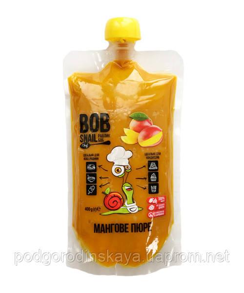 Пюре манго без сахара Bob Snail, 400г