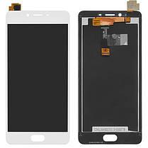 Модуль (дисплей+сенсор) для Meizu E2 білий, фото 2