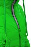 Куртка жіноча Freever баклажан, чорний, біла, фото 4