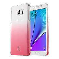 Чехол Baseus Gradient для Samsung Galaxy Note 5 Pink