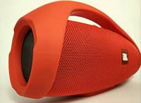 ВЕЛИКА блютуз Портативна колонка Bluetooth колонка JBL копія BOOMSBOX червона