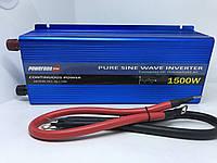 Инвертор POWERONE 12 - 220 В 1500 Вт чистый синус