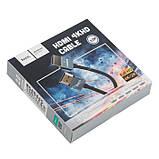 Кабель шнур Hoco UA12 4KHD HDMI - HDMI 1.4 V 3m, фото 4