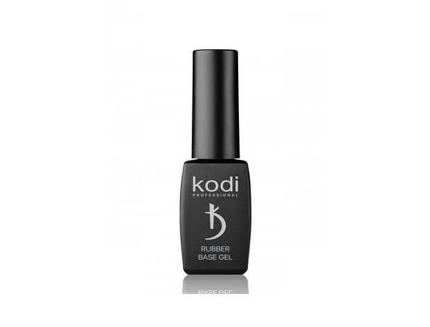 Черная каучуковая основа Kodi Professional Rubber Base Gel Black 8 мл, фото 2
