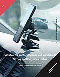 Автомобильный магнитный держатель в автомобиль для мобильного телефона на стекло Hoco CA28 Happy journey, фото 4