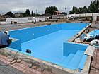 Голубая ПВХ пленка для пруда, бассейна, Agrilac Италия 1 мм ширина 4 м, фото 3